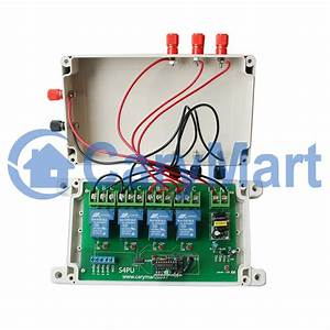 Double Pole Double Throw  Dpdt  Wireless Remote Control Switch For Winch Crane