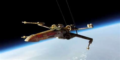Star Wars Fans Send X-wing Into Space To Get J.j. Abrams