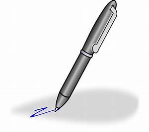Ballpoint pen clipart free clipart images - Clipartix