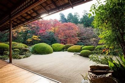 Zen Garden Japanese Gardens Temple Kyoto Shisen