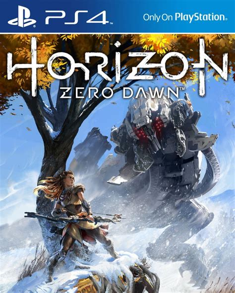 horizon  dawn promotional art released ps