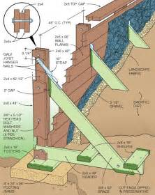 wood retaining wall construction types of retaining walls choose wisely