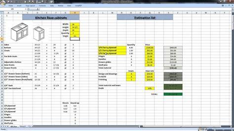 cabinet cutlist software cabinets matttroy