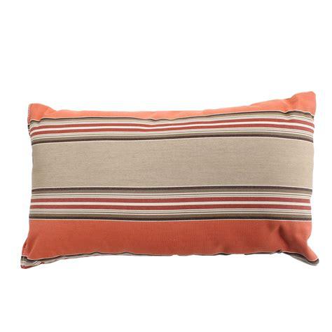 sunbrella outdoor pillows shop passage poppy rectangle sunbrella outdoor throw