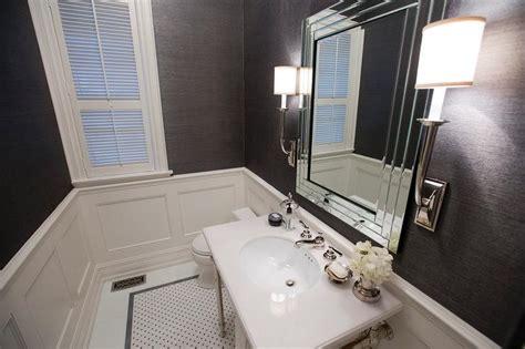 Gray Contemporary Bathroom By Jennifer Backstein Interiors