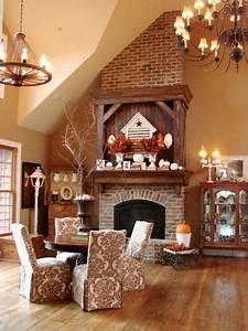 45 great thanksgiving mantel decorating ideas