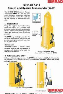 Simrad Sa50 Sa50 Sart User Manual Sart Instruction Sht 1 0