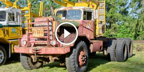 1959 Kenworth With The Chain Drive Would Still Run