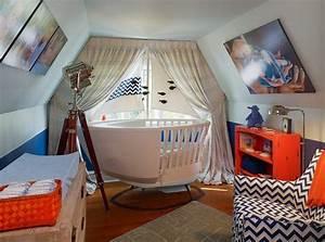Chambre Bébé Moderne : chambre b b moderne avec d co inspir e par la mer ~ Melissatoandfro.com Idées de Décoration