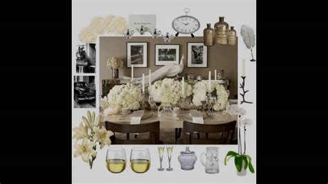 Decorating Ideas Elegant Living Rooms: Elegant Dinner Party Themed Decorating Ideas