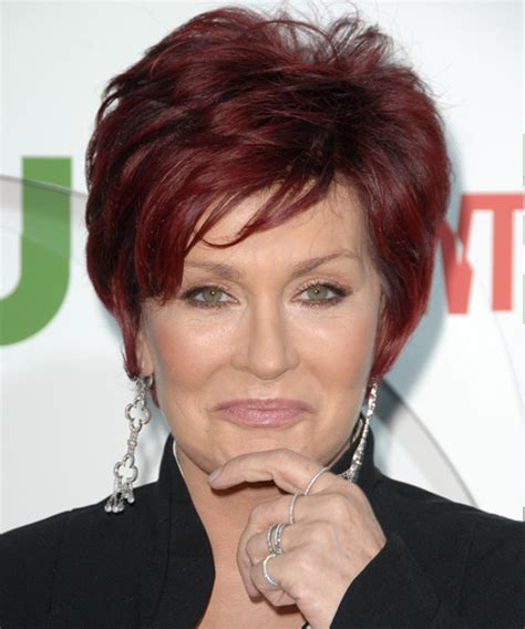 sharon osbourne hairstyles hair cuts  colors