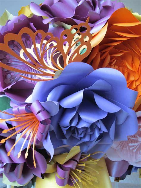 stunning floral paper chandeliers  zoe bradley