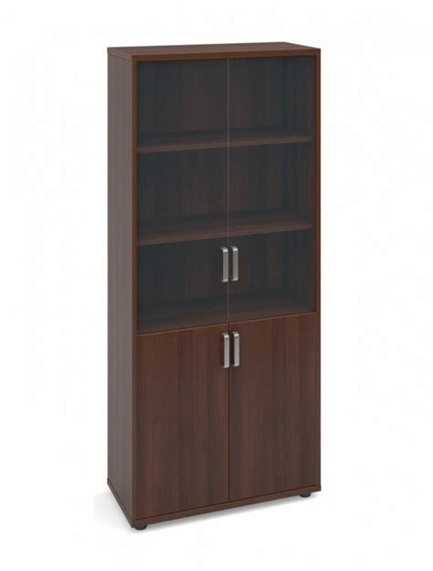 Cupboard With Glass Doors by Magnum Office Cupboard With Glass Doors