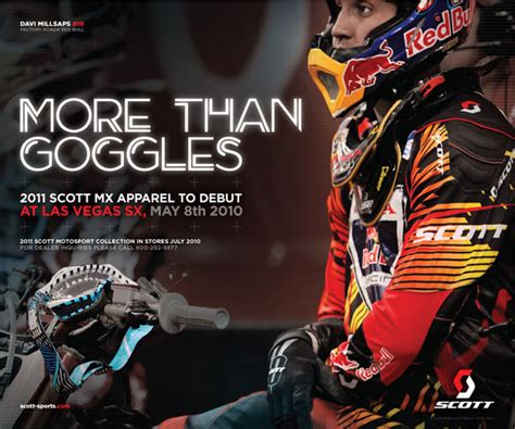 scott motocross gear sneak peek 2011 scott mx apparel motocross feature