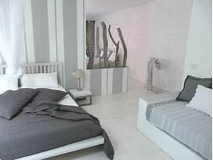 16 deco de chambre grise pour une ambiance zen deco cool With chambre gris perle et blanc