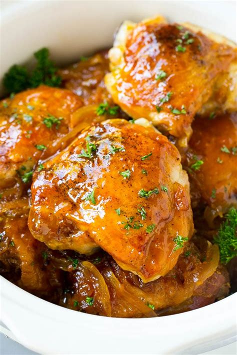 cooked chicken recipes apricot chicken crockpot