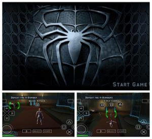 spiderman  apk android ppsspp vusaiso game
