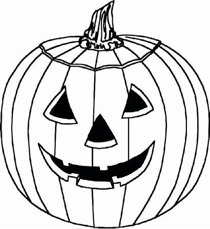 Scary Coloring Pumpkin Pages Printable Getcolorings Colorings