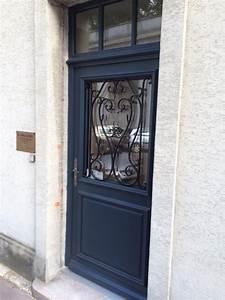 nouveau porte d entree avec fermeture porte fenetre bois With porte d entrée pvc avec fermeture porte fenetre bois
