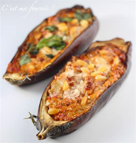 recette de cuisine sans viande c 39 est ma fournée les aubergines farcies sans viande