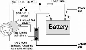 amp hour monitor faqs With amp gauge wiring diagram