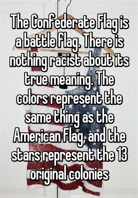 what is the meaning of siege the confederate flag is a battle flag there is nothing