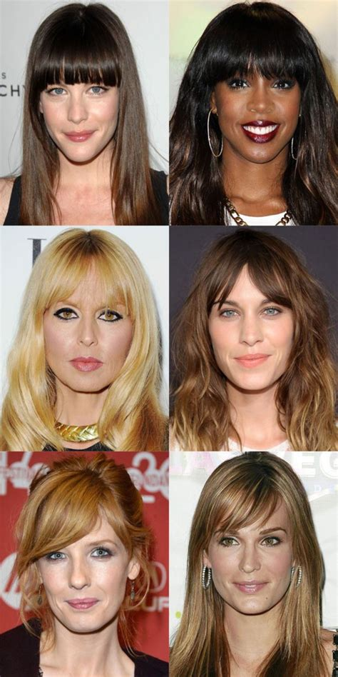 worst bangs  long face shapes hair