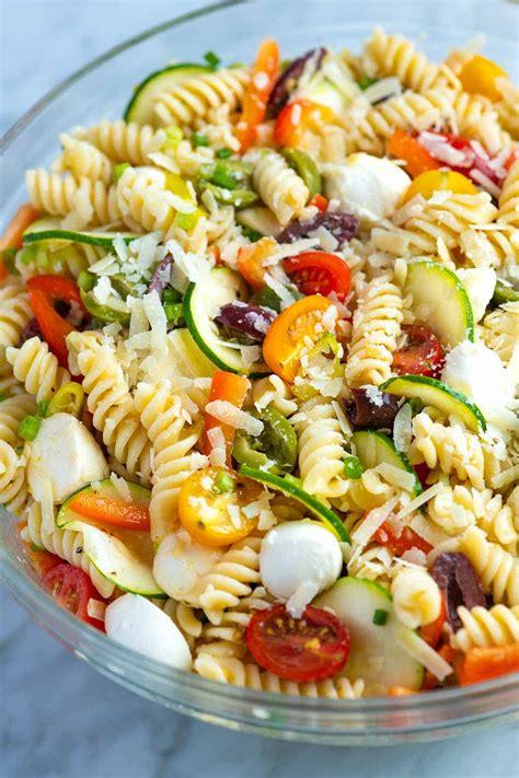 quick pasta salad quick and easy pasta salad recipe