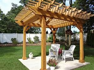 Pergola Holz Selber Bauen : 50 gartenlauben aus holz gartenpavillon selber bauen ~ Markanthonyermac.com Haus und Dekorationen