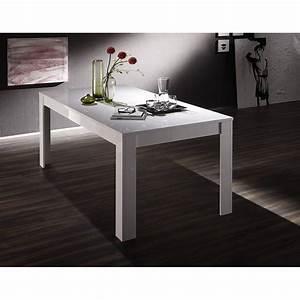 Table 140 Cm : basic dining table 140 cm white ~ Teatrodelosmanantiales.com Idées de Décoration