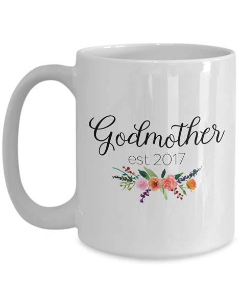 Coffee has become part of our everyday lives. Godmother est 2017 coffee mug, Pregnancy announcement reveal, Godmother gift   eBay