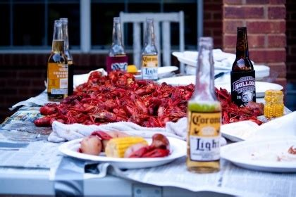 Crawfish Boil Table Decorations by 1000 Images About Crawfish Lobster On