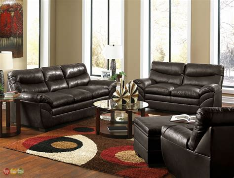 Red Leather Living Room Furniture Sets (red Leather Living
