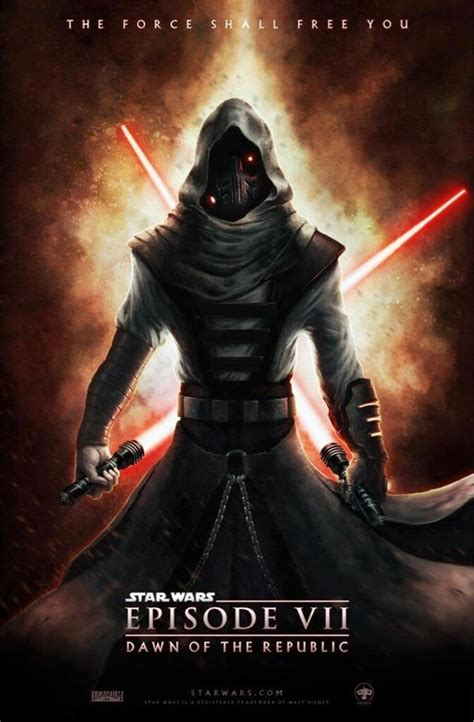 Star Wars Episode 7 Fan Poster Sith Lord, Twin