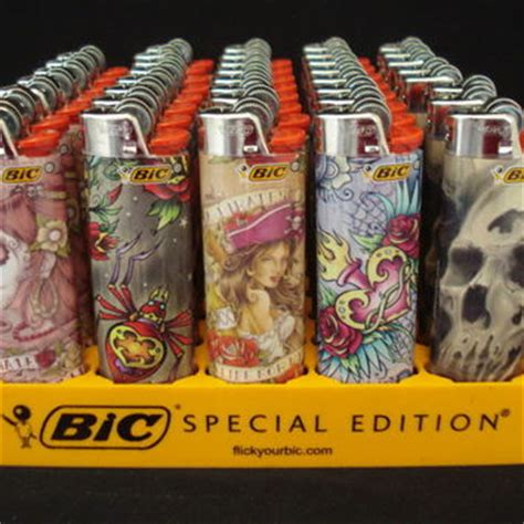 bic lighter designs 7 bic lighters designs series from isell goods on ebay