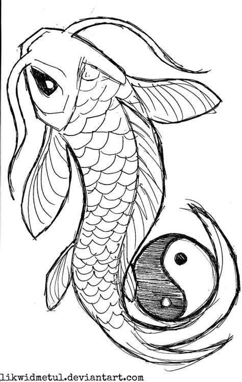 koi fish tattoo designs   Dessins faciles, Dessin de dragon