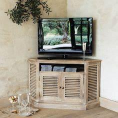 meuble tv avec des caisses en bois pomme caisse With maison du monde meuble tv 2 meuble tv dangle en manguier grise l 75 cm persiennes