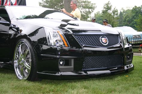 cadillac cts  coupe complete body kit ground