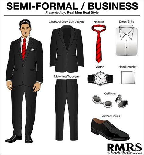 Men's Dress Code Guide  7 Levels Of Dress Code Etiquette