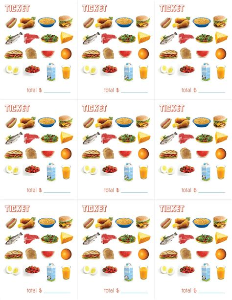 amy  delightful blog printable menus  playing restaurant