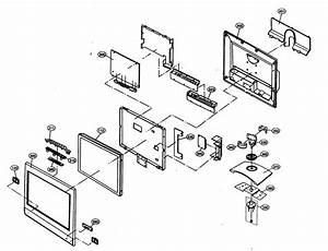 Led Tv Parts Diagram