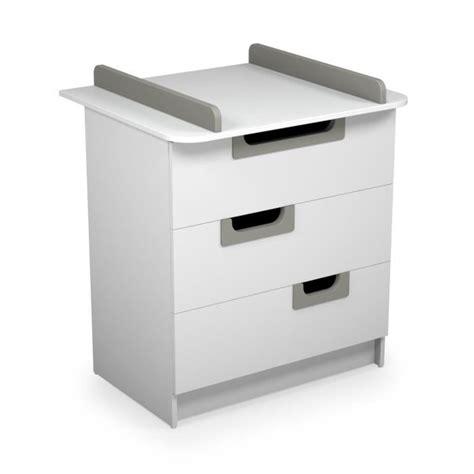 meuble a langer meuble a langer cdiscount table de lit