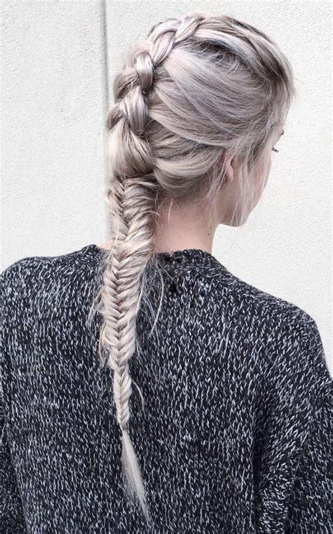 french fishtail braid hair inspiration hair styles