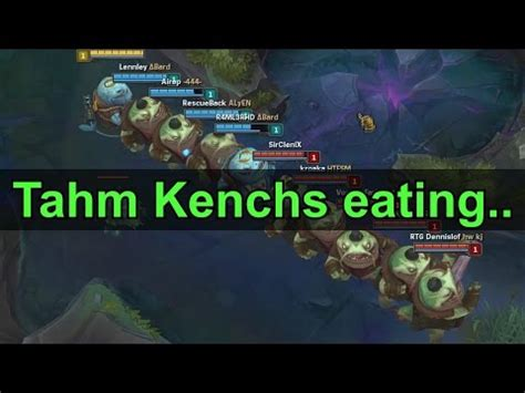 Unbench The Kench Memes - tahm kench eating tahm kench eating tahm kench eating tahm kench eating tahm kench eating tahm