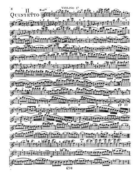 String Quintet No 3 In C Major Mozart Wolfgang String Quintet No 3 In C Major K 515 Mozart Wolfgang