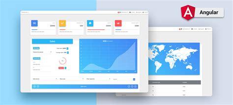 Angular Dashboards Angular Admin Dashboard Template Angular 6 Material