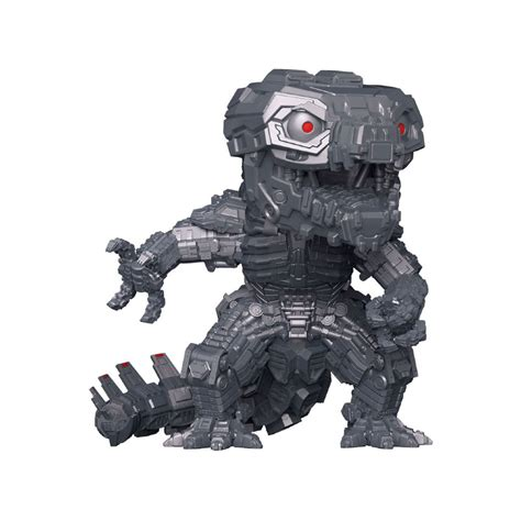 Movable cannons are attached to shoulder and chest of the figure. Pop! Movies: Godzilla Vs Kong - Mechagodzilla (Metallic ...