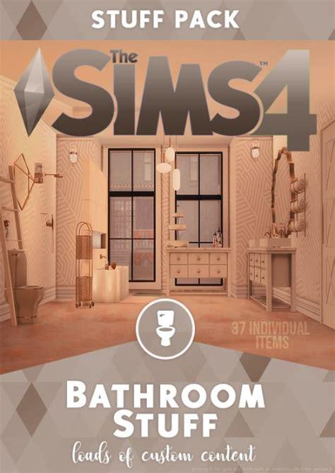 bathroom cc stuff pack sims  cc furniture sims