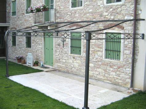 tettoie in ferro battuto e vetro tettoie in legno e ferro verande a vetri a scomparsa in