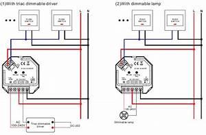 Led Dimmer Schaltung : 1 kanal funk led dimmer 230v ac 1x 400w f r rf mehrzonen sender sr 1009sac hp ebay ~ Eleganceandgraceweddings.com Haus und Dekorationen